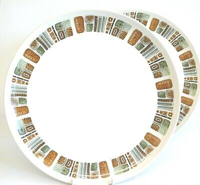 £20 • Buy Royal Worcester 'Palissy' Aztec Retro Dinner Plates