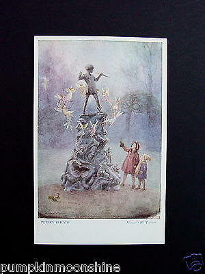 £14.39 • Buy Vintage Margaret W. Tarrant USA Greeting Post Card   Peter's Friends   Lovely