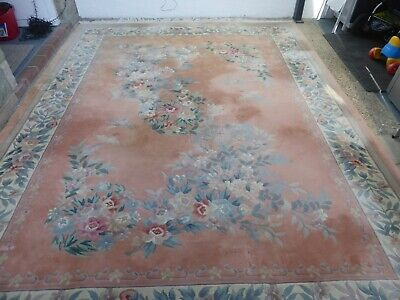 £46 • Buy Extra Large Chinese Rug - £1 Start - No Reserve