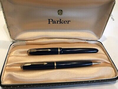 £19.99 • Buy Vintage  1960's Parker 17 Lady Duofold Fountain Pen & Pencil, Cased
