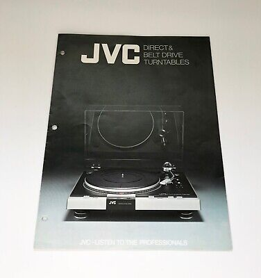 £15.58 • Buy Jvc Victor Turntable Original Factory Issue Sales Brochure Not A Copy