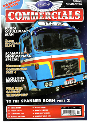 £21.77 • Buy Joblot 7 Heritage Commercials Magazines 4 From 2009 3 From 2010 Vg Clean Cond
