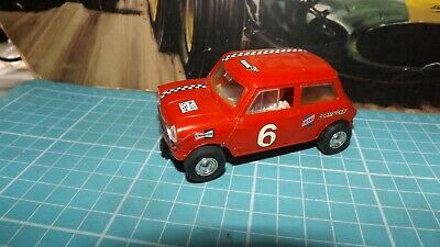 £11.99 • Buy SCALEXTRIC MINI Cooper C7 Vintage Car - With RX Motor !