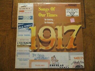 £15.93 • Buy Bob Grant & His Orchestra – Song Hits Of 1917 - Vocalion VL 73629 LP EX/VG+!!!
