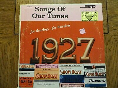 £15.93 • Buy Bob Grant & His Orchestra – Song Hits Of 1927 - Vocalion VL 73639 LP EX/VG+!!!