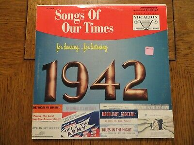 £15.93 • Buy Bob Grant & His Orchestra – Song Hits Of 1942 - Vocalion VL 73654 LP EX/VG+!!!