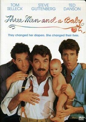 £5.66 • Buy Three Men And A Baby (DVD, 1987 Touchstone) Tom Selleck, Ted Danson-NEW
