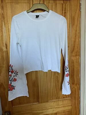 AU5.52 • Buy Urban Outfitters Embroidered Top Size L-G