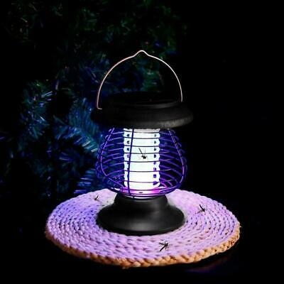 £7.38 • Buy Solar Powered LED Mosquito Fly Bug Insect Zapper Killer Trap Lamp Light Outdoor