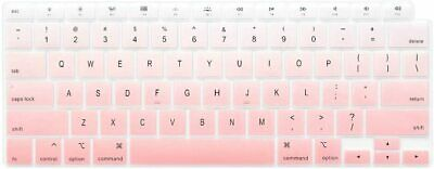 £13.88 • Buy Keyboard Cover Skin For 2021 2020 MacBook Air 13 In With Touch ID Light Pink
