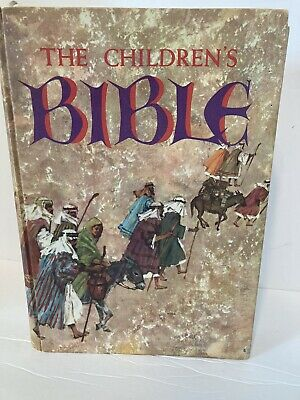 £10.51 • Buy The Children's Bible Golden Press Edition Hardcover Illustrated Stories Faith