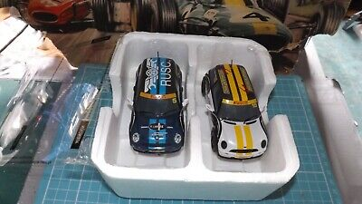 £19.99 • Buy SCALEXTRIC 2 X MINI COOPER Cars - With New Rear Tyres !