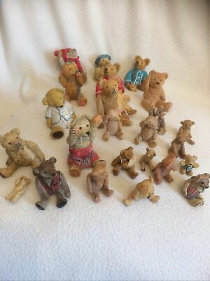 £20 • Buy Collection Of Pottery Teddy Bears