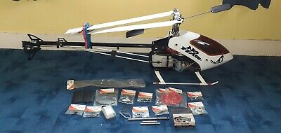 £350 • Buy Jp Tz 90 Size Nitro Rc Model Helli Helicopter And Spares