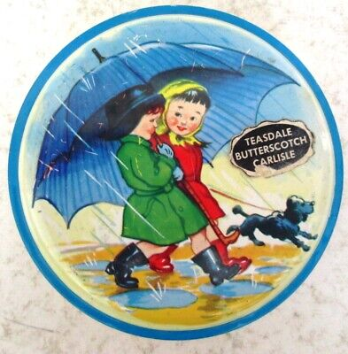 £3.50 • Buy 1950s Teasdale Childrens Toffee Tin