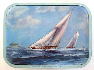 £3.50 • Buy 1960s Milady Yachting Toffee Tin