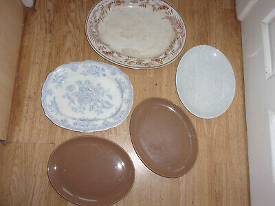 £5 • Buy 5 Large Oval Serving Plates