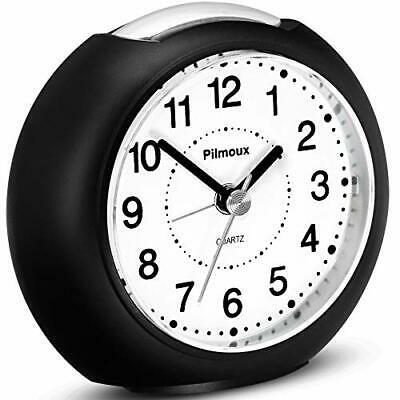 £14.99 • Buy Pilmoux Silent Alarm Clock - Battery Powered Easy To Read, Snooze + Night Light