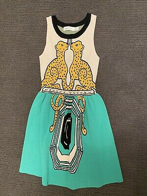 AU80 • Buy ALICE McCALL, STUNNING PANTHER KNIT STYLE DRESS  SIZE 8