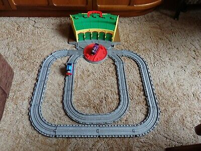 £15 • Buy Thomas & Friends Take & Play Tidmouth Sheds Fold Out Track Ryan & Thomas Engines