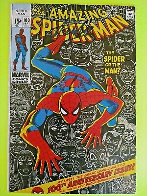 £86.76 • Buy Amazing Spider-Man, #100  SIGNED By STAN LEE ==NO COA==(NO RESERVE)
