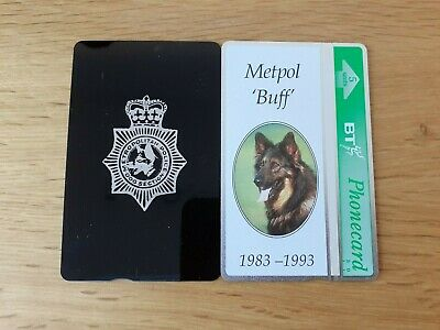 £6 • Buy Bt Metropolitian Police Dog Section Mint Phonecard - Backprint - Only 125 -