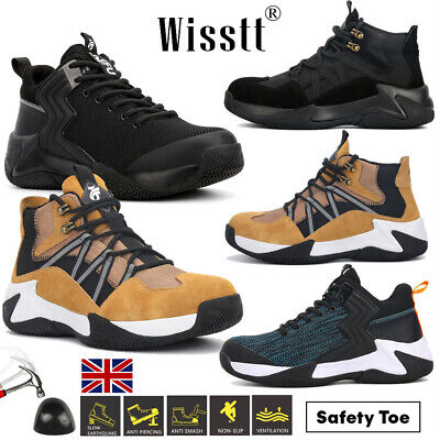 £24.99 • Buy Women's Steel Toe Cap Work Boots Running Hiker Shoes Workwear Safety Trainers S3
