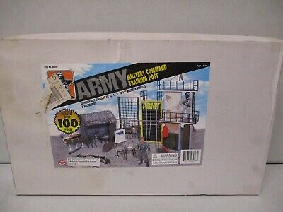 $29.99 • Buy ES Toys Army Military Command Training Post Playset For 12 Inch Figures