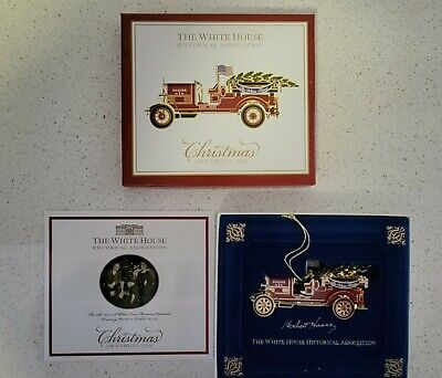 £7.21 • Buy White House Historical Association Christmas Ornament 2016 Hoover Fire Engine