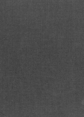 £3.50 • Buy New British Made, Mid Weight , Medium Grey Twill Fabric, By The Metre