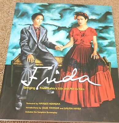 AU64.85 • Buy Frida Movie Book Hand Signed By Salma Hayek Softcover In Excellent Condition