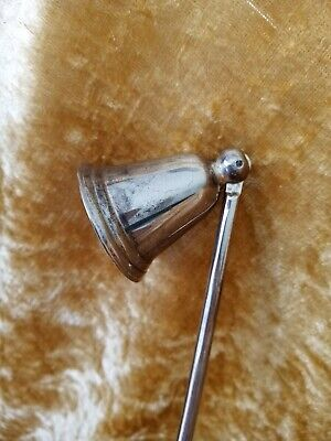 £7.99 • Buy Candle Snuffer Silver Plated. 27 Cm Long. See Photos For Description