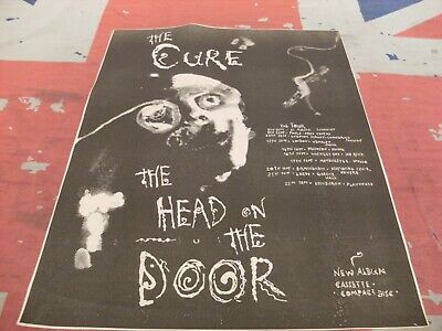 £0.99 • Buy THE CURE  The Head On The Door  And UK TOUR 1985 Original NME ADVERT/POSTER