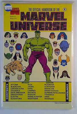 $17.32 • Buy The Official Handbook Of The Marvel Universe: Master Edition #8 1991 NM Comic