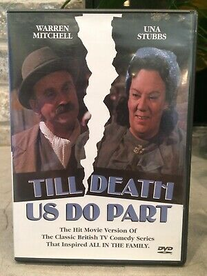 £14.45 • Buy Till Death Us Do Part DVD Warren Mitchell Una Stubbs All In The Family 1ST CLASS
