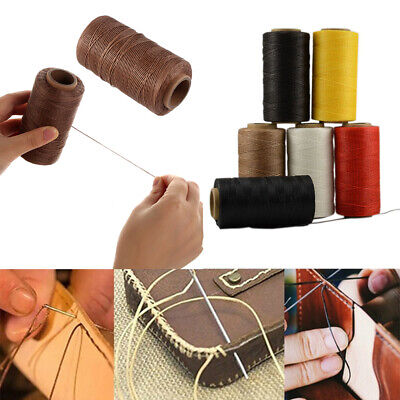 £4.99 • Buy 150D 260M/Roll Sewing String Waxed Thread Stitching Cord Leather Hand Stitching