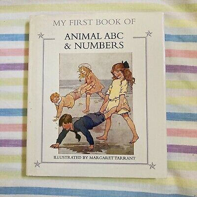 £4 • Buy My First Book Of Animal ABC's And Numbers Illustrated By Margaret Tarrant