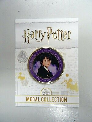 $ CDN10.28 • Buy Harry Potter - Philosopher's Stone Edition - Harry Potter Medal Collection