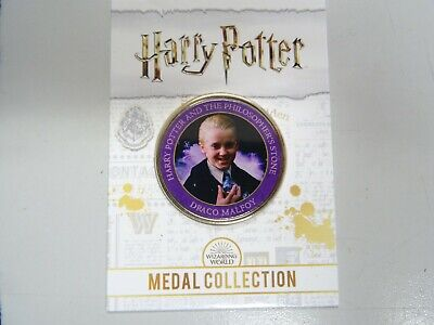 $ CDN10.28 • Buy Draco Malfoy - Philosopher's Stone Edition - Harry Potter Medal Collection