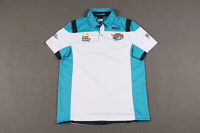 £11.99 • Buy Leeds Rhinos ISC Official Rugby Polo Shirt Jersey Rugby Union Size L