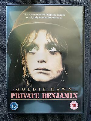 £0.99 • Buy Private Benjamin DVD 1980 Goldie Hawn Hollywood Comedy