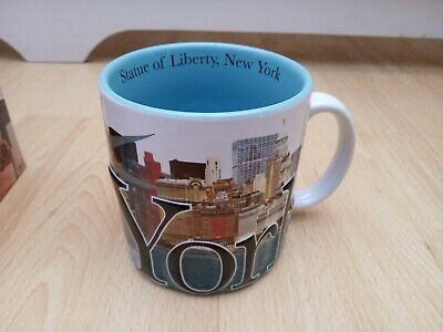 £12.99 • Buy NEW Lovely New York Statue Of Liberty Large 18oz Mug In Box