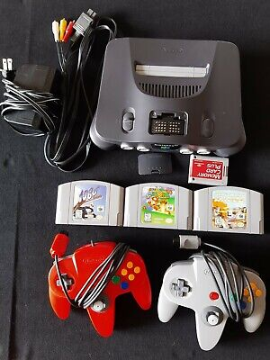 $ CDN127.50 • Buy Nintendo 64 Console - N64 Bundle- With Expansion Pack - Mario 64 + More