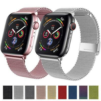 AU18.03 • Buy Strap For Apple Watch Band 44mm 40mm 38mm 42mm 44 Mm Magnetic Loop Stainless
