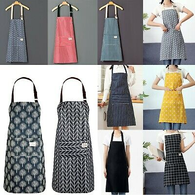 £3.49 • Buy Kitchen Apron For Cooking BBQ Craft Baking Chefs Catering Butcher Apron