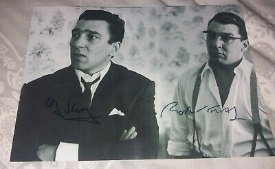 £3.50 • Buy Krays Signed Picture - Kray Twins - Ronnie & Reggie Kray - Crime - Free Uk Post.