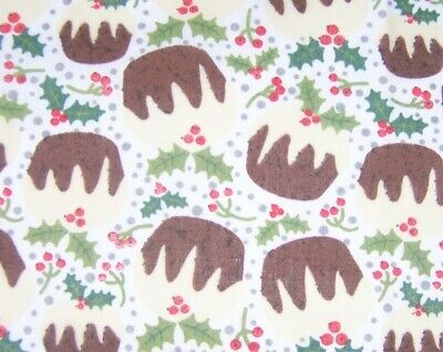 £2.95 • Buy Christmas Craft Fabric  Remnant Material Quilting 1 Metre