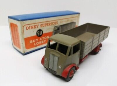 £142.76 • Buy DINKY TOYS # 511 GUY 4 Ton Lorry - 1st Type Cab - Faw Cab & Back - MB