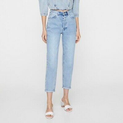£2 • Buy Pull And Bear Mom Style Jeans. 28 38