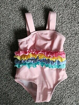 £0.99 • Buy Baby Girls Swimming Costume 0-3 Months Worn Once